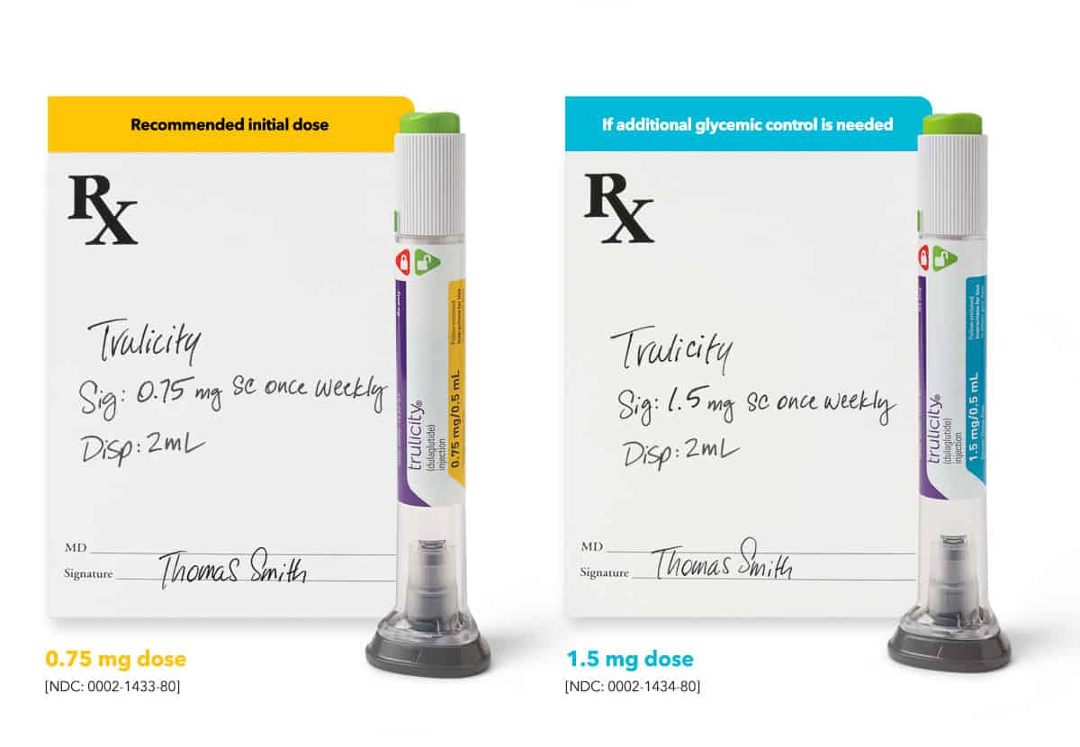 trulicity-medication-types-and-rx-pads
